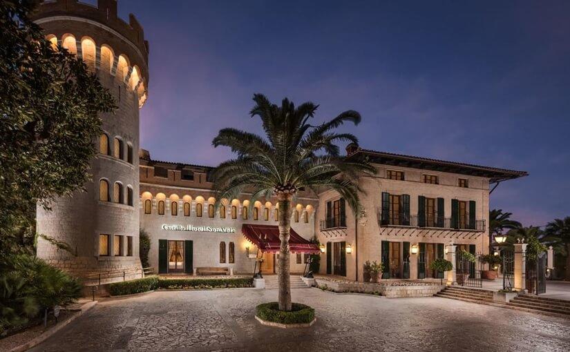 castillo hotel son vida palma de mallorca