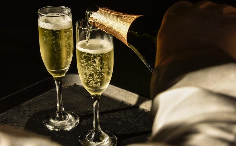 Champagne luxury escort